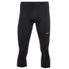 Nike Essential - Short running Homme - DriFit, 3/4 Tight noir